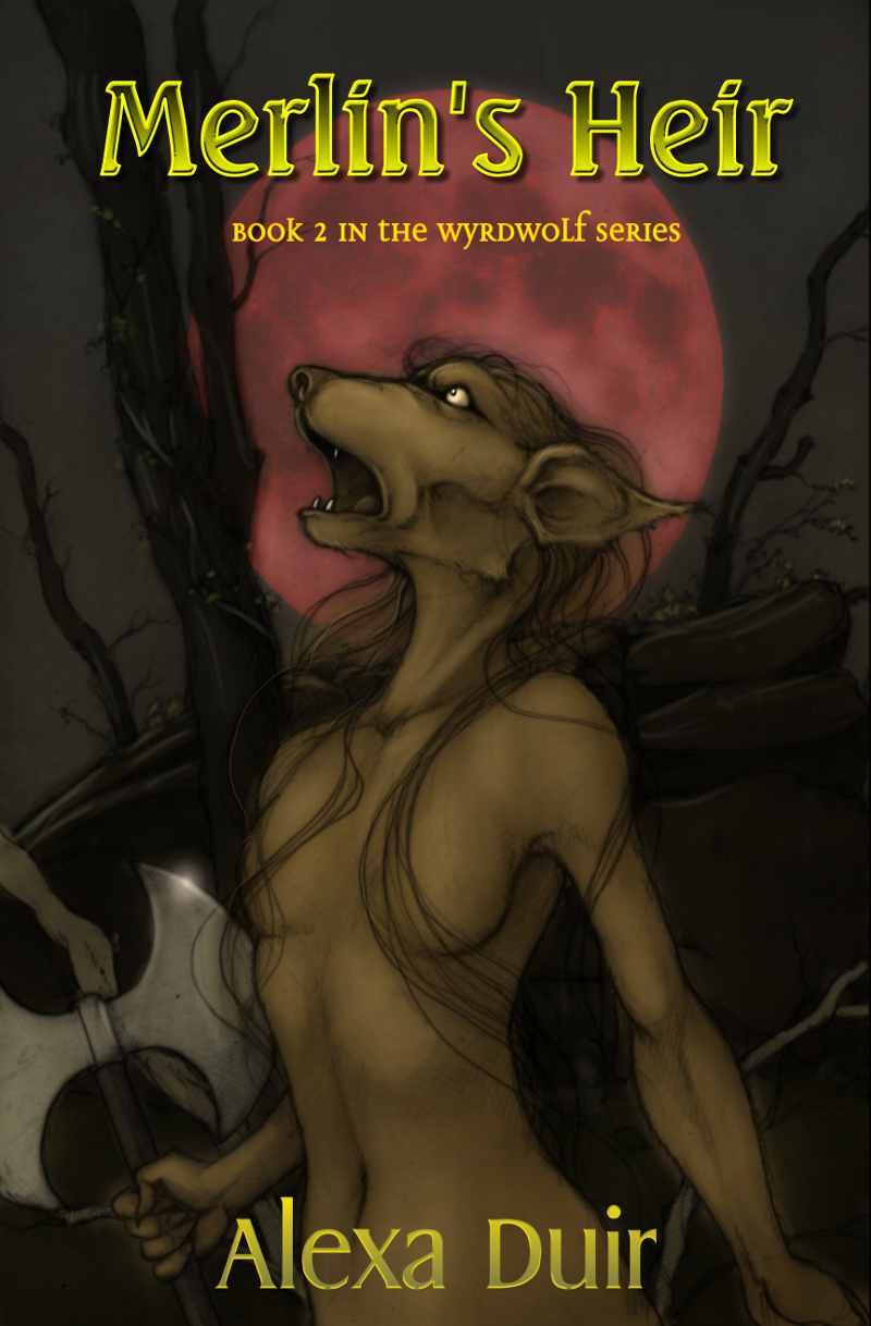 Book 2 in the Wyrdwolf series