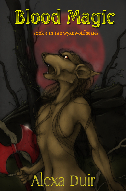 Book 9 in the Wyrdwolf series