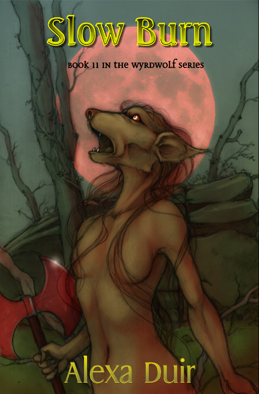 Book 11 in the Wyrdwolf series